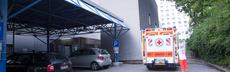 Krankenwagen totale verpixelt